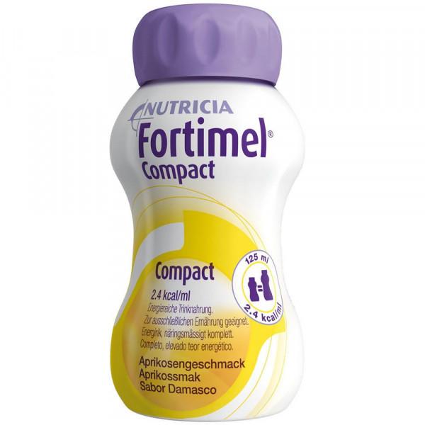 Fortimel Compact Aprikosengeschmack 8x4x125 ml